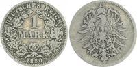 1 Mark 1880 G Deutschland / Kaiserreich 1 Mark kleiner Adler J.9  1880 ... 50,00 EUR  +  7,50 EUR shipping