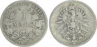 1 Mark 1880 G Deutschland / Kaiserreich 1 Mark kleiner Adler J.9  1880 ... 42,00 EUR  +  7,50 EUR shipping
