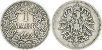1 Mark 1880 H Deutschland / Kaiserreich 1 Mark kleiner Adler J.9  1880 ... 60,00 EUR  +  7,50 EUR shipping