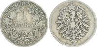 1 Mark 1880 H Deutschland / Kaiserreich 1 Mark kleiner Adler J.9  1880 ... 38,00 EUR  +  7,50 EUR shipping