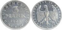 3 Mark 1923 E Deutschland / Weimar / Inflation Inflationszeit 3 Mark Al... 75,00 EUR  +  7,50 EUR shipping
