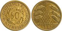 50 Pfennig 1923 F Deutschland / Weimar Weimar  50 Pfennig J.310 1923F s... 195,00 EUR  +  7,50 EUR shipping