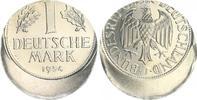 1 DM Fehlprägung 20% dezentriert 1954 J De...