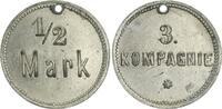 1/2 Mark Militärgeld 3.Kompanie ca. 1910 Deutsch-Südwestafrika Kolonien... 190,00 EUR  zzgl. 4,75 EUR Versand