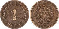 1 Pfennig 1877A Kaiserreich 1 Pfennig 1877A    seltener Jahrgang s-ss s... 95,00 EUR  +  7,50 EUR shipping