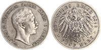 5 Mark 1892 A Deutschland / Kaiserreich / Preußen Preußen 5 Mark Silber... 50,00 EUR  +  7,50 EUR shipping