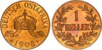 1 Heller 1908J Kolonien Deutsch-Ostafrika Deutsch-Ostafrika 1 Heller 19... 545,00 EUR  +  8,95 EUR shipping