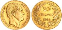20 FR 1865 Belgien Belgien 20 Fr. 1865 Gold!  Leopold I. ss-vz  275,00 EUR  +  8,95 EUR shipping