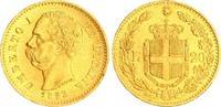 20 Lira 1882 Italien Italien Umberto I. 1882 20 Lira Gold f.vz  275,00 EUR  +  8,95 EUR shipping