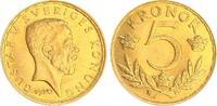 5 Kronor 1920 Schweden Schweden 5 Kronor 1920, Gustav V. vz-st  149,00 EUR  +  7,50 EUR shipping