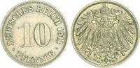 10 Pfennig-Variante 1914 G Deutschland / Kaiserreich Kaiserreich 10 Pf.... 15,00 EUR  +  6,50 EUR shipping