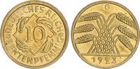 10 Pfennig 1923G Deutschland / Weimar 10 Pfennig J.309 1923F seltenes J... 75,00 EUR  +  7,50 EUR shipping