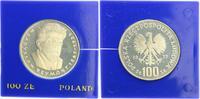 100 Zloty 1977 Polen 100 Zlotych 1977, Polen, Silbermünze Wladislaw Rey... 75,00 EUR  +  7,50 EUR shipping
