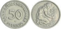 50 Pfennig 1950 G Deutschland 50 Pfennig Bank Deutscher Länder 1950G ir... 175,00 EUR  +  7,50 EUR shipping