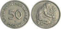 50 Pfennig 1950 G Deutschland 50 Pfennig Bank Deutscher Länder 1950G ir... 155,00 EUR  +  7,50 EUR shipping