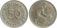 50 Pfennig 1950 G Deutschland 50 Pfennig B...