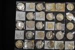 Sammlung von 28 Silbermünzen ab 1948 1948-...