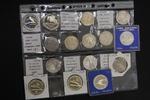 Sammlung von 15 Münzen 100 bis 1000 Zlot  ...