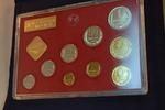 Kurssatz 1980 mit 9 Münzen 1980 Russland U...