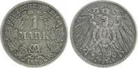1 Mark 1892 G Deutschland / Kaiserreich 1 ...