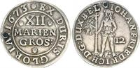 12 Mariengroschen 1673 Braunschweig-Lünebu...