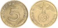 5 Pfennig 1936 D Deutschland / Drittes Rei...