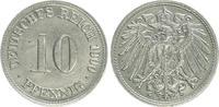 10 Pfennig Variante 1900 D Deutschland / K...
