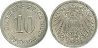 10 Pfennig 1905 A Deutschland / Kaiserreic...