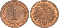 1 Pfennig 1907 E Deutschland / Kaiserreich...