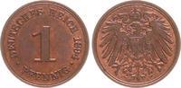 1 Pfennig 1894 A Deutschland / Kaiserreich...