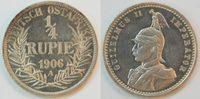 1/4. Rupie 1906 A Kolonien Deutsch-Ostafri...