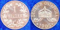 1 Heller 1905J Kolonien Deutsch-Ostafrika Deutsch-Ostafrika 1 Heller 19... 750,00 EUR  +  8,95 EUR shipping