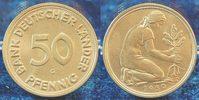 50 Pfennig 1950 G Deutschland 50 Pfennig Bank Deutscher Länder 1950G ir... 495,00 EUR  +  8,95 EUR shipping