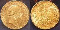10 Mark Gold 1903 E Sachsen 10 Mark Gold 1...