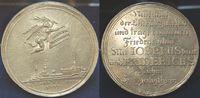 Silbermedaille auf den Frieden von Tesch 1...