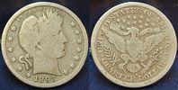 1/4 Dollar 1893 USA USA 1/4 Dollar, 1893 s...
