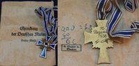 Mutterkreuz in Bronze 1939-45 3. Reich 3. ...
