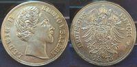 Ludwig II.versilberte Medaille 1873 Deutsc...