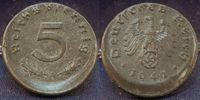 5 Pfennig 1941 A Deutschland / Drittes Rei...