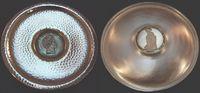 Silberteller mit Medaille 1835 Deutschland...