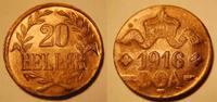 20 Heller 1916T Kolonien Deutsch-Ostafrika Deutsch-Ostafrika 20 Heller ... 250,00 EUR  +  7,50 EUR shipping