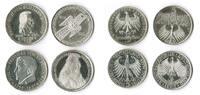 5 Mark die ersten vier 1952,1955,1 Bundesr...