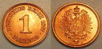 1 Pfennig 1877A Kaiserreich 1 Pfennig 1877A    seltener Jahrgang und Er... 695,00 EUR  +  8,95 EUR shipping
