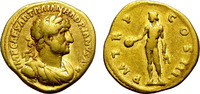 Aureus 117-138 Rome HADRIAN. ATTRACTIVE GO...