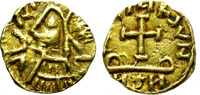 Gold Tremissis.   BARBARIAN. GERMANIC TRIB...