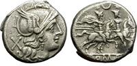 Denarius. 207 BC.  Roman Republic. Anonymo...