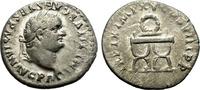 Denarius. 79-81 AD. Rome. Titus. Nice coin.