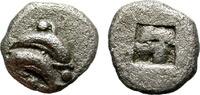 Obol. c.500-450 B Thrace. Thasos. Interest...