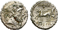 FOUREE DENARIUS. 99 BC. ROME. REPUBLIC. VE...