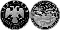 3 Rubel 2014 Russland 100. Jahrestag der G...